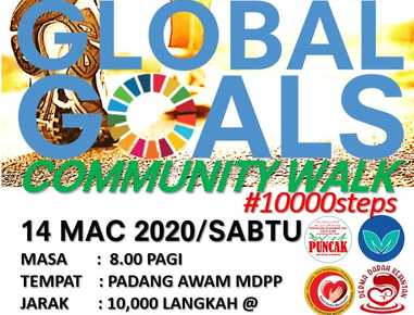 Global Goals Community Walk